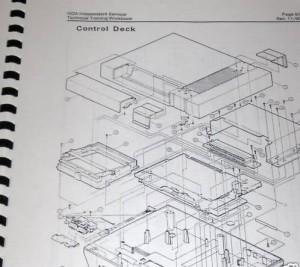Manual servicio técnico de Nintendo NES
