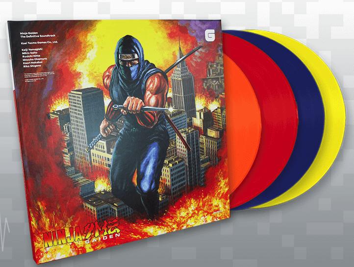 Banda sonora de Ninja Gaiden en vinilo