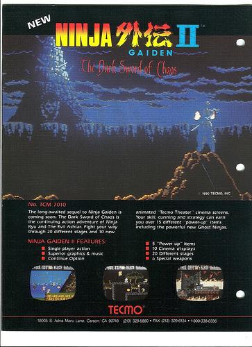 Flyer Ninja Gaiden