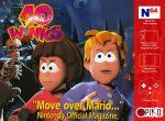 Caratula provisional de 40 Winks para Nintendo 64