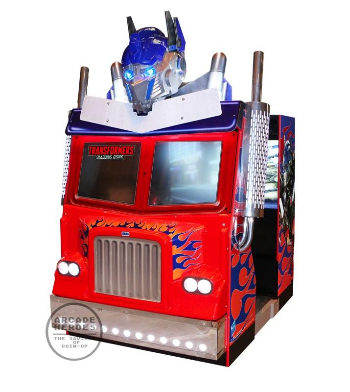 MAquina arcade de Transformers