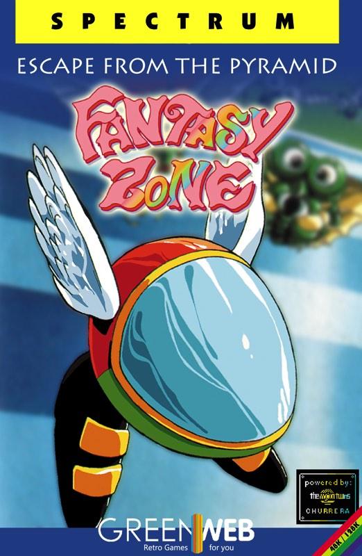 Caratula Fantasy Zone ZX Spectrum