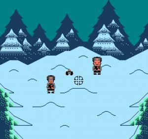Perkele! Nintendo NES pantalla de juego