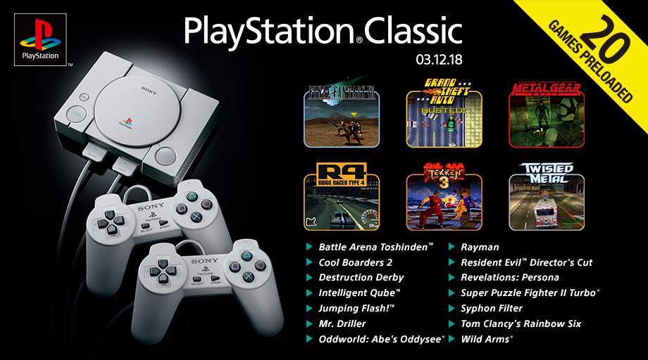 Anuncio Playstation Classic