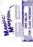 Poster Maniac Mansion