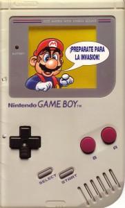 Publicidad de Erbe de la Game Boy para tiendas y distribuidores