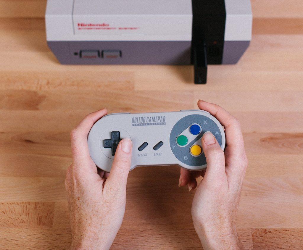 Adaptador bluetooth para Nintendo NES