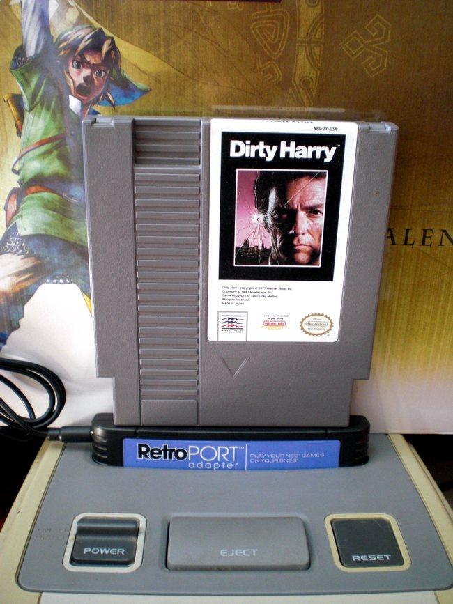 Con RetroPort puedes jugar a Harry el Sucio de NES en tu Super Nintendo