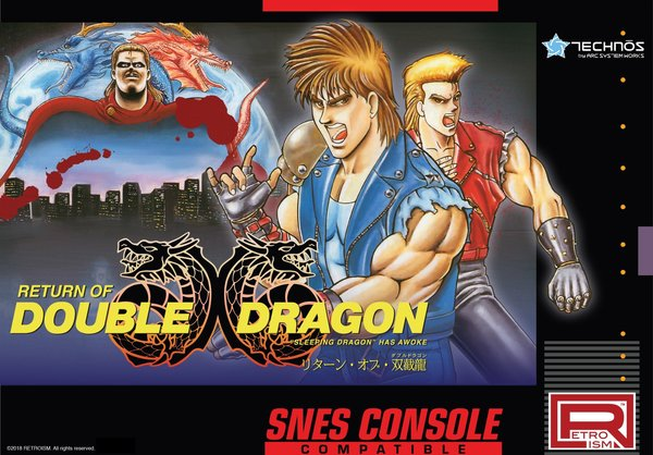 Return Double Dragon Super Nintendo 2018