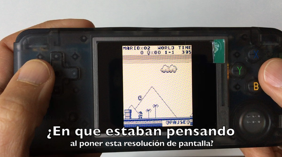 Emulador de GB nativo en la consola RS 97