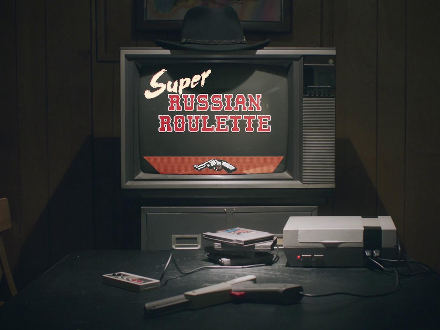 Juego de ruleta rusa para NES