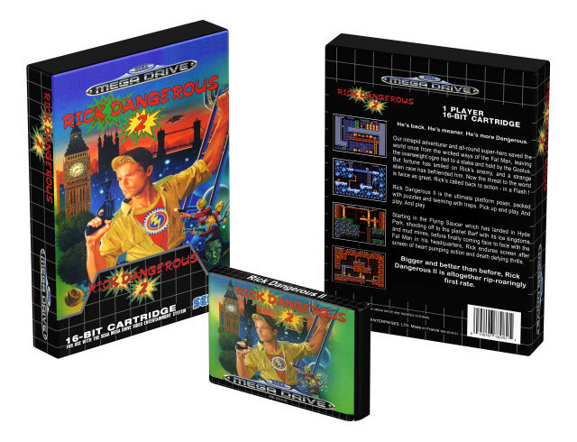 Rick Dangerous 2 para Sega Mega Drive