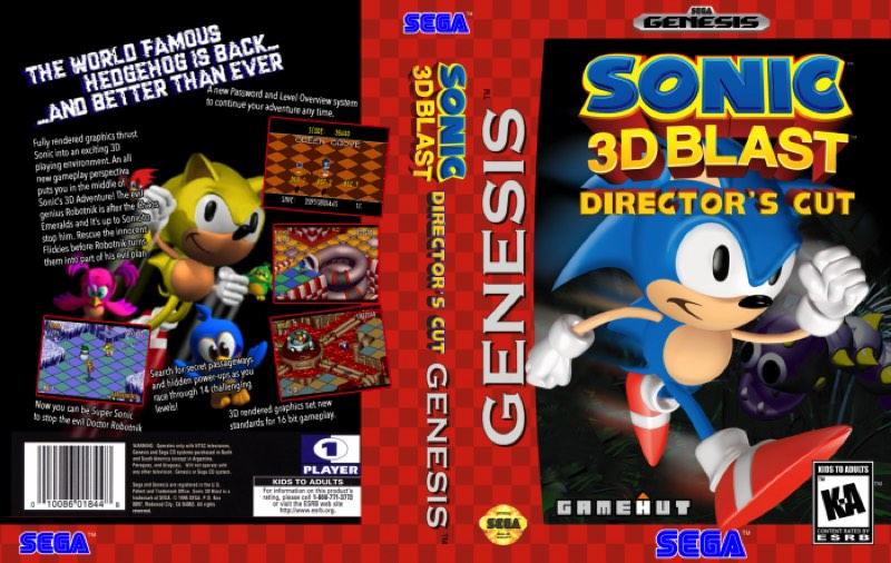 Sonic 3D: Flickies' Island Director's Cut