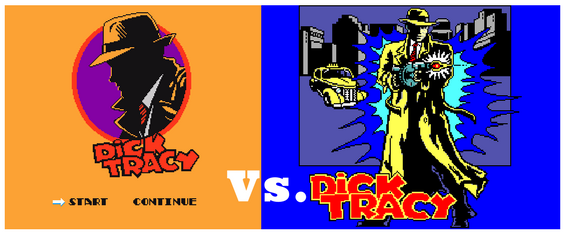 Dick Tracy en 8 bits