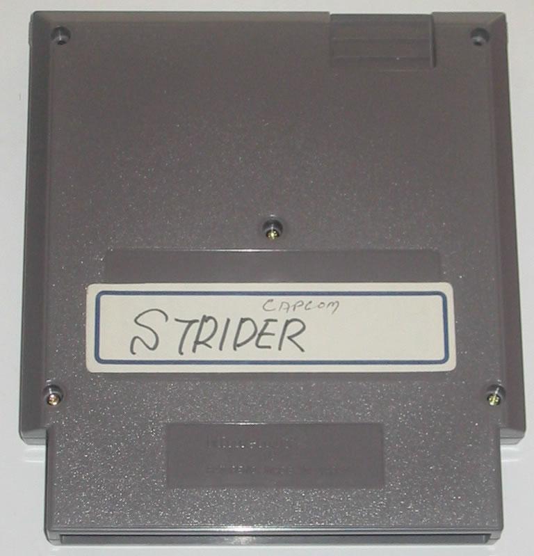 Versión Beta de Strider para Nintendo NES