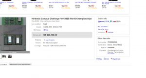 Nintendo Campus Challenge 1991 vendido por 14000 euros