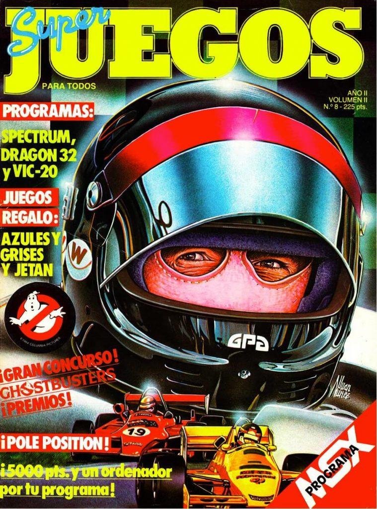 Super Juegos para todos Nº 8. La primera revista de videojuegos Española