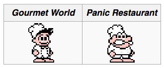 Diferencias de panic restaurant
