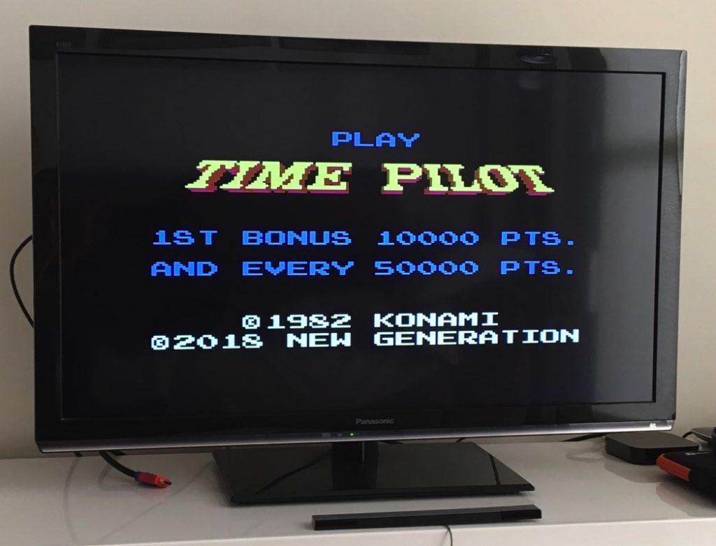 Time Pilot para Atari XE