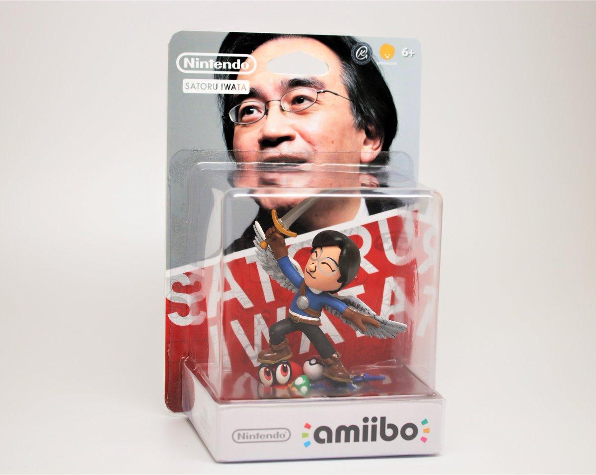 Custom amiibo de Iwata