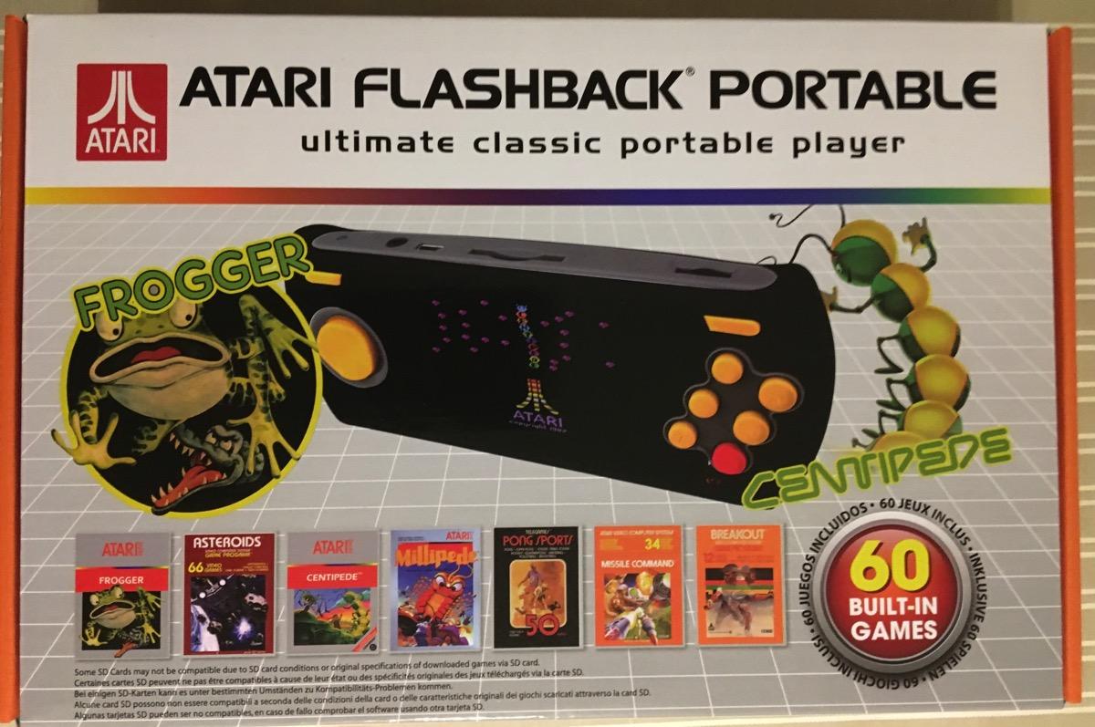 Caja Atari Flashback Portable 2016