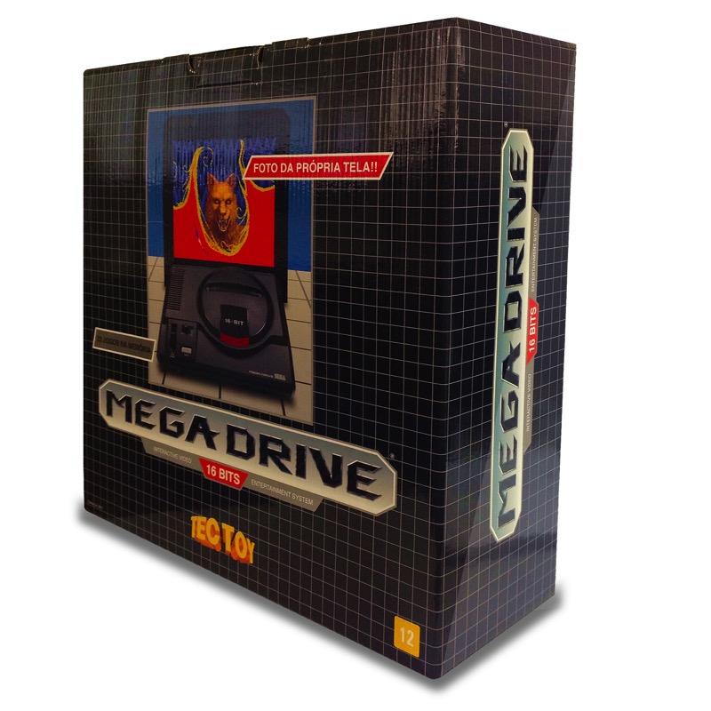 Caja Sega Mega Drive 2018 Brasileña