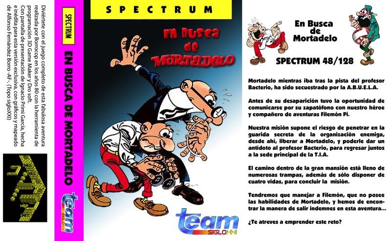 En busca de Mortadelo para Spectrum