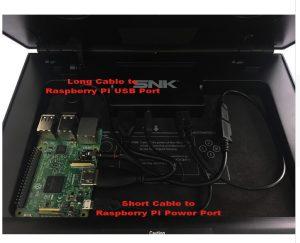 Cables Neo Geo X Raspberry Pi 3