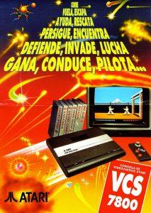 Publicidad Española Atari 7800 Año 1991