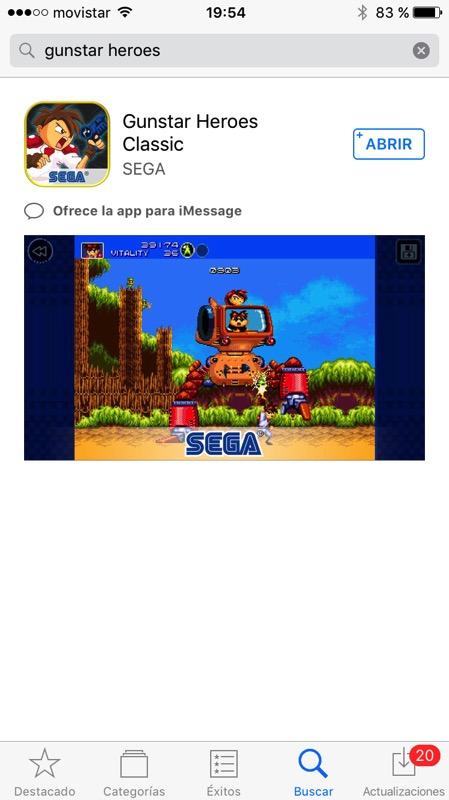 Gunstar Heroes iOS