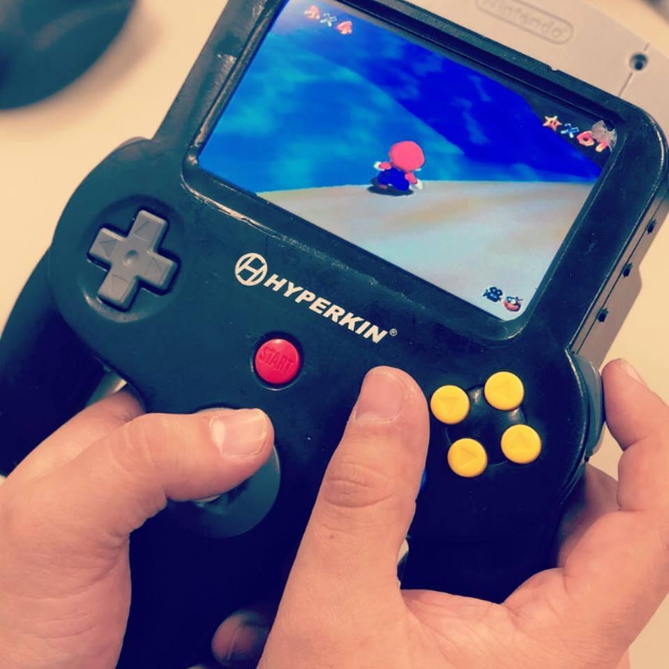 Nintendo 64 portatil