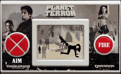 LCD Falsa de planet terror