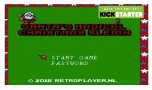 Papá Noel busca dinero en Kickstarter para tener su propio juego en Nintendo NES