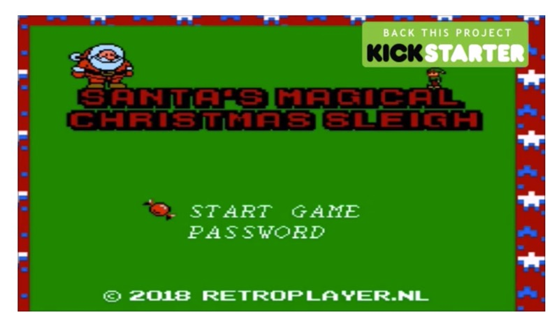 Juego de Santa Claus para Nintendo NES