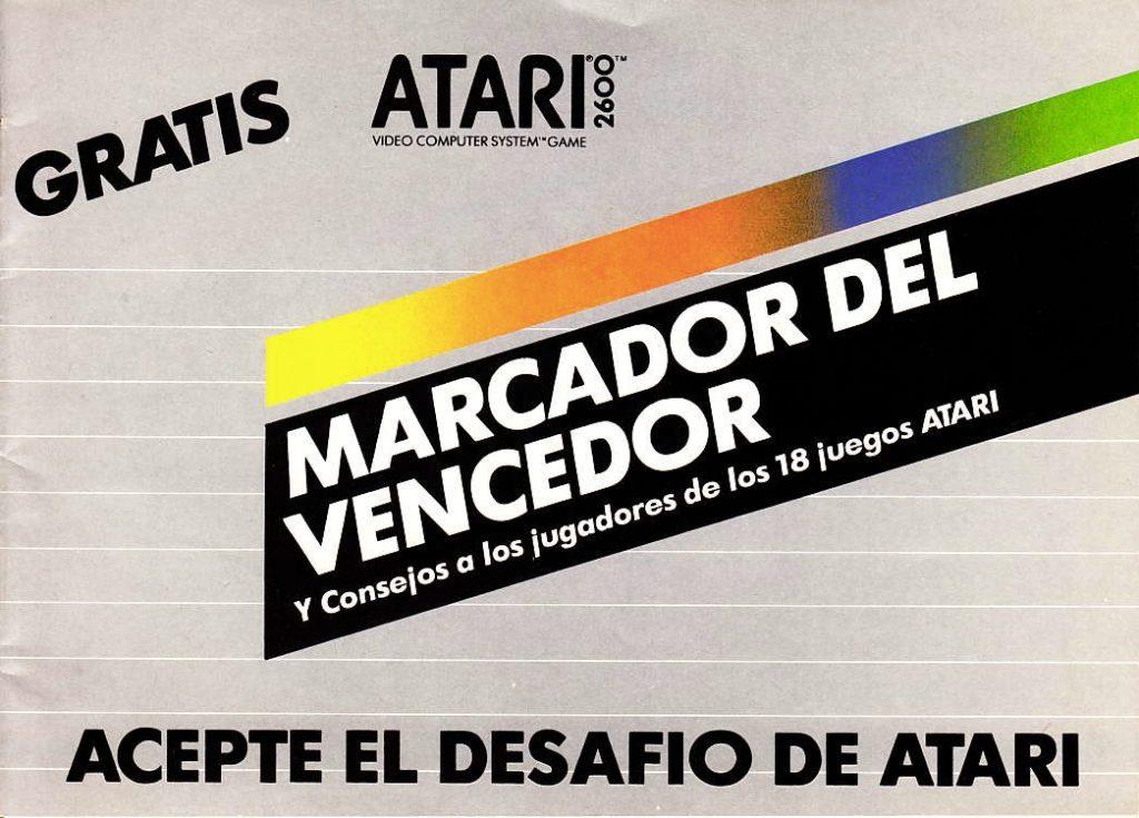 Atari 2600 Marcador del vencedor