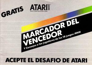 Marcador del vencedor – Acepte el desafío de Atari