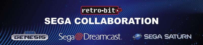 Retro-bit anuncio colaboración Sega