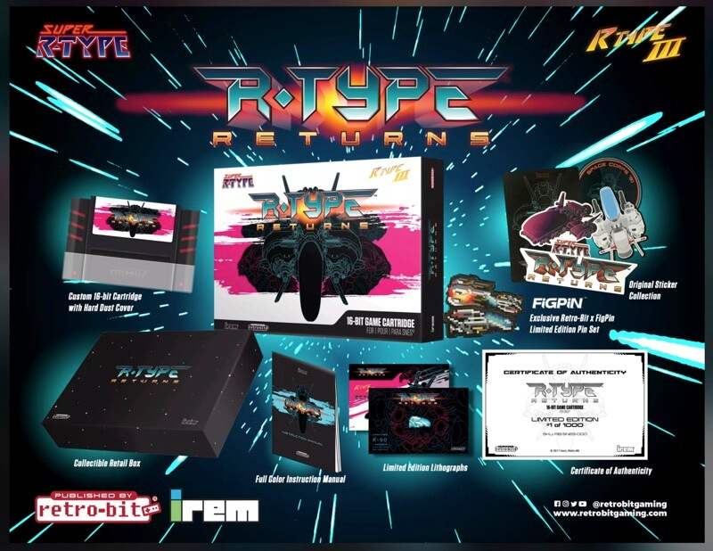 R-Type Returns Super Nintendo